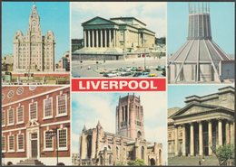 Multiview, Liverpool, Lancashire, C.1970 - Dennis Postcard - Liverpool