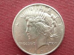 ETATS UNIS Monnaie  One Dollar 1924 - Émissions Fédérales