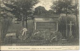 Gruss Von Den Schlachfeldern Denkmal Der 25 Hess. Division Bei Amanweiler - 1906 - Frankreich