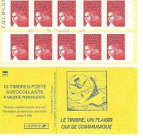 Carnet Sagem Marianne De Luquet  Daté - Carnets