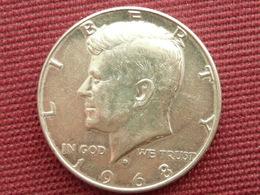 ETATS UNIS Monnaie De Half Dollar 1968 - Federal Issues