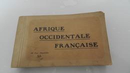 Carnet De 48 Vue   Afrique  Occidentale   Française - Postcards