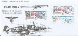 Bloc Souvenir Normandie Niemen Fédération De Russie Aviation - Souvenir Blocks & Sheetlets