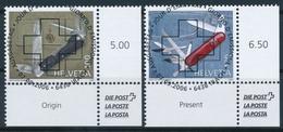 1209-1210 / 1980-1981 Serie Mit Ersttag Vollstempel - Schweiz