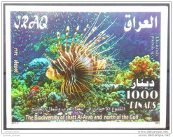 05 Iraq 2011 MNH - The Biodiversity Of Shat Al-Arab & North Of The Gulf - Fishes - Marine Life - Animals - Fauna S/S - Iraq