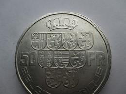 Belgie 50 Francs, 1940  Met Triangle !! - 08. 50 Francs
