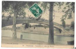 31 Toulouse, Passerelle De L'allée Des Soupirs (3383) - Toulouse