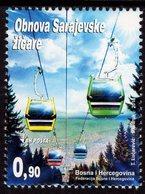 Bosnia & Herzegovina - Sarajevo - 2018 - Reconstruction Of Sarajevo Cable Way - Mint Stamp - Bosnia And Herzegovina