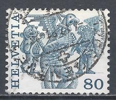 Switzerland 1977. Scott #643 (U) Folk Custom, Griffins, Basel * - Suisse