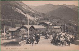 65 - Cauterets - La Gare - Editeur: LL N°46 - Cauterets