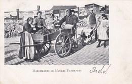 Marchandes De Moules Flamandes (pk46931) - Marchands Ambulants