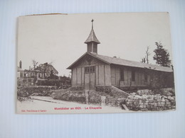 CPA 80 MONTDIDIER En 1921 La Chapelle   1924 T.B.E - Montdidier