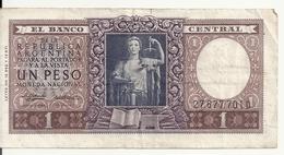 ARGENTINE 1 PESO ND1956 VF P 263 - Argentine