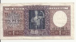 ARGENTINE 1 PESO ND1956 VF P 263 - Argentina