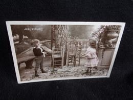 """Jeux . Série """" Jeux D ' Enfants """" Le Ballon . Photo  Stebbing.Voir 2 Scans . - Autres"""
