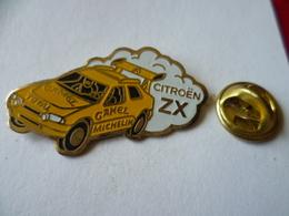 PIN'S  VOITURE  RALLYE  CITROEN ZX  CAMEL  MICHELIN - Rallye