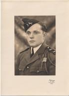 PHOTO D'un Militaire Du 401° Régiment D'Artillerie Antiaèrienne, Insigne Sur Fouragère. - Guerre, Militaire