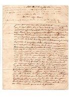 64 - PAU . LETTRE ADRESSÉE À MADEMOISELLE ROBY LE 20 JUIN 1830 - Réf. N°117F - - Manuscripts