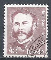 Switzerland 1978. Scott #663 (U) Henri Dunant (1828-1910), Founder Of Red Cross * - Suisse