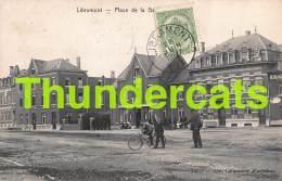 CPA  LIBRAMONT PLACE DE LA GARE - Libramont-Chevigny
