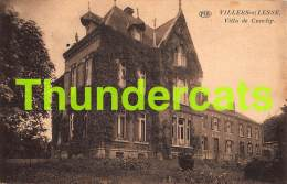 CPA  VILLERS SUR LESSE VILLA DE CUNCHY - Rochefort