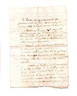 64 - NAVARRENX . JUGEMENT FAMILLE ROBY . 02 JUILLET 1842 - Réf. N°118F - - Manuscripts