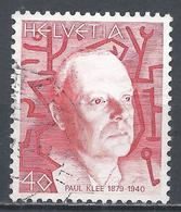Switzerland 1979. Scott #668 (U) Paul Klee (1879-1940), Painter * - Suisse