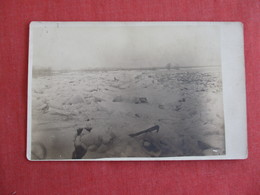 RPPC  Icy River   Ref 2984 - Postcards