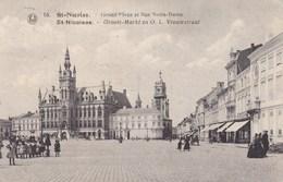 Sint Niklaas, St Nicolas, Groote Markt En O.L.Vrouwstraat (pk46953) - Sint-Niklaas