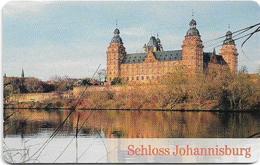 Germany - Burgen & Schlösser 1 - Schloss Johannisburg - A 07-02.02 - 6.000ex, Used - A + AD-Reeks :  Advertenties Van D. Telekom AG