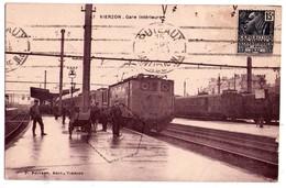 1693 - Vierzon ( Cher ) - Gare Intérieure - P.Poivert éd. - N°47 - - Vierzon