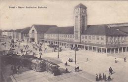 Neuer Badischer Bahnhof - 1914       (P-139-61007) - BS Bâle-Ville