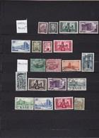 LOT DE TIMBRES DE SARRE... VOIR SCAN - Stamps