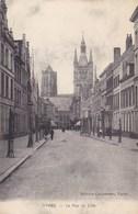 Ieper, Yper, Ypres, La Rue De Lille (pk46960) - Ieper