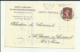 68 - Haut Rhin - Mulhouse - S.A.C.M. - Timbre Perforé - Philatélie - - Poste & Facteurs