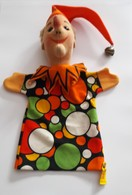 STEIFF KNOPF IM OHR  Marionnette à Main Ancienne Réf. 7051/28 Année 80 / 90 / Hand Puppet / Handpuppe - Steiff