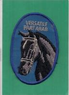 Ecusson    Patch   -   Cheval  Horse   VERSATILE PART ARAB - Scudetti In Tela
