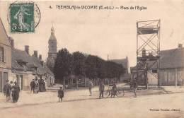 28 - EURE ET LOIR / 284488 - Tremblay Le Vicomte - Place De L'église - Autres Communes