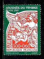"""FRANCE 3135** 3f + 60c Orange Sur Vert Journée Du Timbre 1998  """" Blanc 1900"""" - France"""
