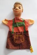STEIFF KNOPF IM OHR Marionnette à Main Ancienne Réf.705428 Année 80 / 90 / Hand Puppet / Handpuppe - Steiff