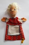STEIFF KNOPF IM OHR Marionnette à Main Ancienne Réf.705328 Année 80 / 90 / Hand Puppet / Handpuppe - Steiff