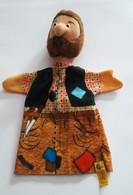 STEIFF KNOPF IM OHR Marionnette à Main Ancienne Réf.705828 Année 80 / 90 / Hand Puppet / Handpuppe - Steiff