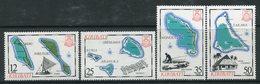 Kiribati 1983 Island Maps - 2nd Issue - Set MNH (SG 201-04) - Kiribati (1979-...)