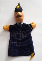 STEIFF KNOPF IM OHR Marionnette à Main Ancienne Réf.705728 Année 80 / 90 / Hand Puppet / Handpuppe - Steiff
