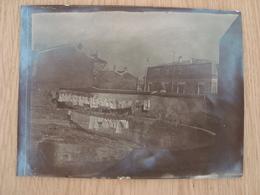 PHOTO ANCIEN ABREUVOIR DE MEUDON 1938 12 MARS - Lieux