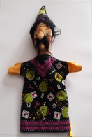 STEIFF KNOPF IM OHR Marionnette à Main Ancienne Réf.706828 Année 80 / 90 / Hand Puppet / Handpuppe - Steiff