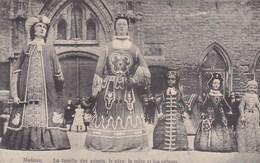 Mechelen, Malines, La Famille Des Géants, Le Père, La Mère Et Les Enfants (pk46982) - Mechelen