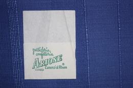 PASTICCERIA ARIONE CUNEO - TOVAGLIOLO - 1977 - Serviettes Publicitaires