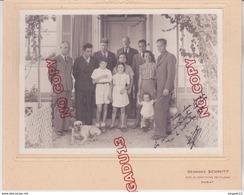 Au Plus Rapide Maroc Rabat Famille De Mr C... Ingénieur TP 2 Nov 1940 Photographe G Schmitt - Lieux