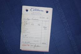 HOTEL COLBURN - DENVER - FATTURA 1982 - United States